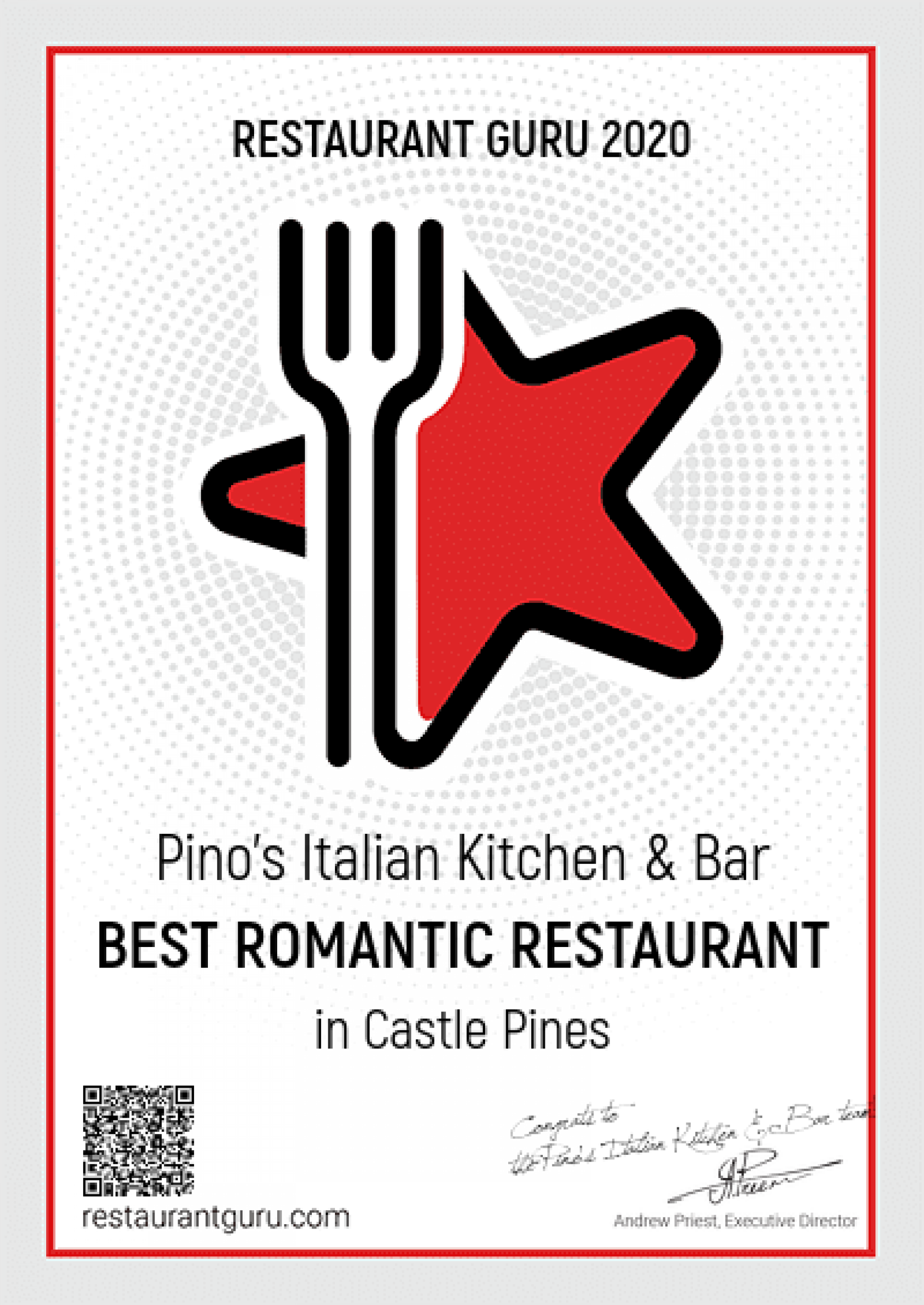 Pino's Italian Kitchen & Bar | Castle Pines Colorado